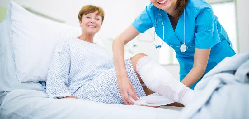 Ulcère de jambe : un pansement qui fait des miracles